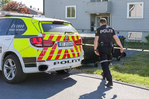 IKKE FERDIGE: To menn, på 18 og 26 år, er fortsatt siktet for drap eller medvirkning til drap, etter at en 19-åring døde av stikkskader i sommer. Politiet holder fortsatt på med å etterforske saken.