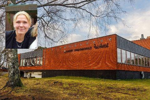 SKUFFET: FAU-leder ved Ranvik ungdomsskole, Helene Nygård, forstår ikke hvorfor 10. klassingene ikke fikk lov til å reise til Høyt og Lavt i Larvik, når kommuneoverlegene i begge kommunene var positive.