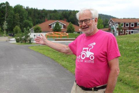 Leder i Hælja Hime-komiteen Bjørn Aamodt.