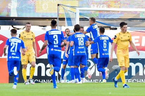 1-0: Guttane slo Bodø/Glimt på hjemmebane onsdag kveld.
