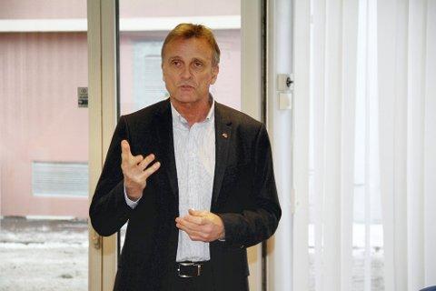 DIREKTØR: Terje Tønnessen er direktør i NAV Vestfold og Telemark. Han er glad for at arbeidsmarkedet viser en positiv utvikling, men bekymrer seg likevel for langtidsledigheten. FOTO: Pål Nordby