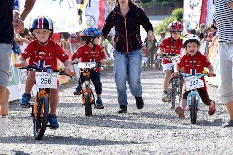 I FART: Den 7. august er det Tour of Norway for kids i Sandefjord. Nå har det kommet gode nyheter angående antall deltagende barn som kan stille til start.