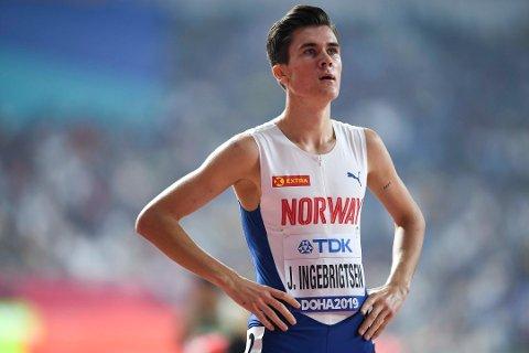 Jakob Ingebrigtsen skal løpe EM i terrengløp.
