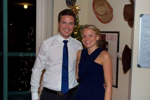 PAR: Tonje Våge (32) og Tom Vika (32) traff hverandre på Forsand for flere år siden, og skal nå gifte seg samme sted.
