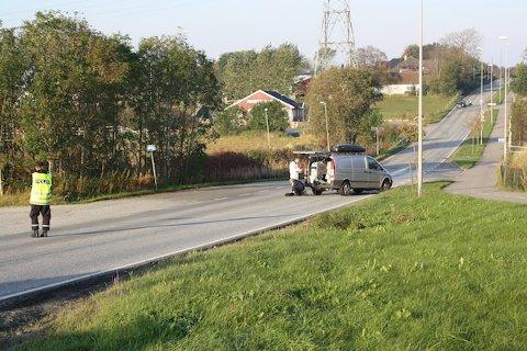 IDENTIFISERT: Politit har nå identfisert mannen som ble funnet død i krysset Sandnesveien/Bærheimsveien. Det er en 23-år gammel mann fra Sola.
