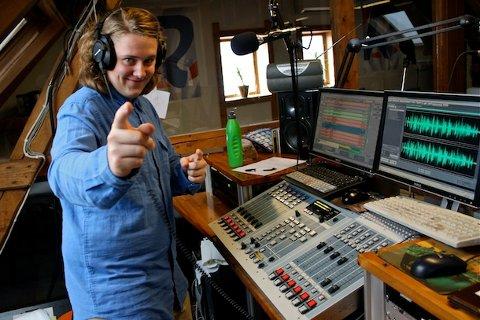 Lars Erik Haukedal Andreassen, her fra Radio Sandnes hvor han er en kjent stemme fra ettermiddagsrushet.