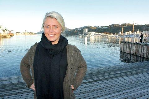 ENGASJERT: Martine Aarskog Borthen begynte å engasjere seg politisk tidlig i ungdomsskoletiden. Nå er hun 1. nestleder i styret til Rogaland Unge Høyre og lokallagsleder for ungdomspartiet i Sandnes.