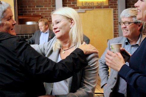 SVEKKET: Senterpartiet og Sofie Margrethe Selvikvåg fikk 4,5 prosent av stemmene mot 5,5 prosent i 2011.