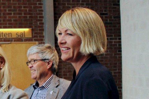 FORNØYD: Ap-leder Annelin Tangen er glad for å ha med et svekket Senterparti og et svekket SV i den kommende valgperioden.