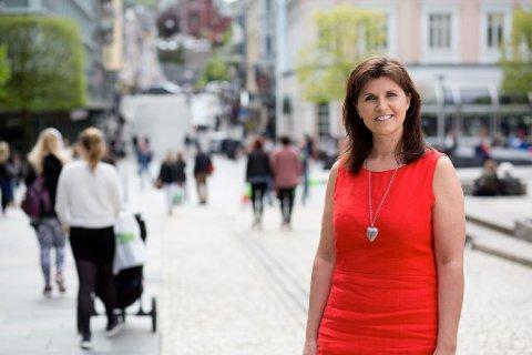 NY BERGENSORDFØRER?: Marita Moltu fra Ganddal kan bli Trude Drevlands erstatter som ordfører i Bergen.