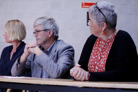 TILBAKEGANG: SV opplever tilbakegang i Sandnes. Jan Refsnes og Heidi Bjerga (til høyre) er skuffet, men samtidig glade over å fortsatt være en del av posisjonen i Sandnes.