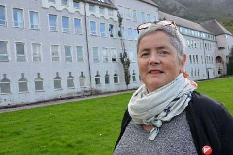 FANTASTISK MULIGHET: Heidi Bjerga (SV) håper at Dale kan fungere som nødplass for nye asylsøkere. – Så lenge det konkluderes med at boforholdene er anstendige har vi en fantastisk mulighet, sier hun.