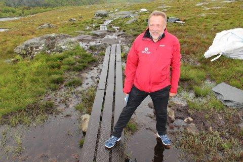 SLITT: I fjor anslo Sandnes Turlag at rundt 200.000 personer tok turen til Dalsnuten. Det setter sitt preg på naturen.