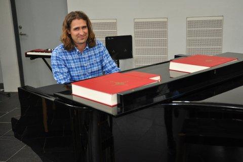 MUSIKK: Kyrkjemusikar Bjarte Lending er klar for konsert med Elim Brass i helga. Til dagleg er han kyrkjemusikar i Hana menighet.
