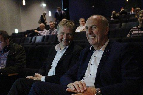 – BESTÅTT: Varaordfører Pål Morten Borgli (Frp) og ordfører Stanley Wirak (Ap) mener sparetiltak fortsatt er nødvendige.