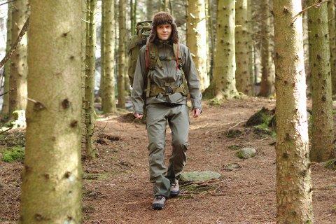 LANGTUR: Marius Fuglestad legger 20. mai ut på sitt livs lengste tur når han går Norge på langs fra nord til sør.
