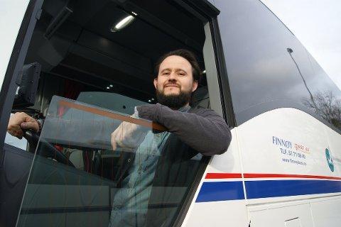 FLYTTET: Finnøy Buss valgte å flytte den ene avdelingen sin fra Stavanger til Sandnes. –Vi har tro på distriktet, sier avdelingsleder og sandnesgauk Tom André Joakimsen.
