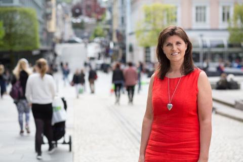 BLIR VARAORDFØRER: Marita Moltu (KrF) fra Ganddal blir Bergens nye varaordfører.