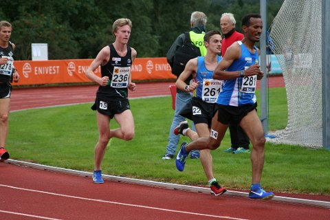 Sandnes-løperen er i god form og er tatt ut til å løpe både 5.000 meter og 10.000 meter for Norge.