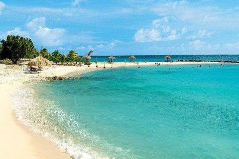 FLOTT: Noe sånt som det man kan oppleve i Curacao, ønsker den nyslåtte millionæren fra Sandnes seg.