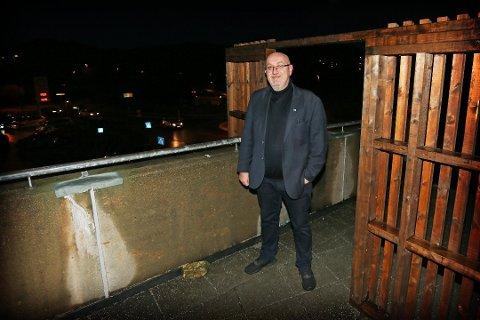 Porten som ble stjålet var desembers mest leste sak. På bildet Guttorm Stangeland.