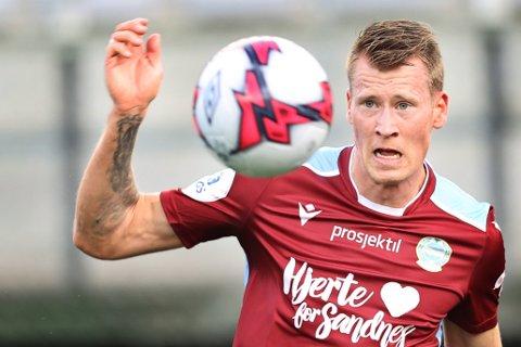 Kent Håvard Eriksen laget to mål og spilte meget solid.
