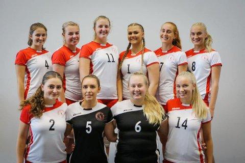 Kvinnelaget til Sandnes volleyballklubb spiller i den nest øverste divisjonen.