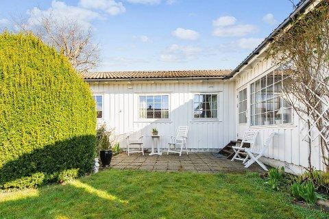 Dette huset skal Liva og Henrik Ingebrigsten flytte inn i til neste år.