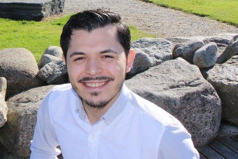 GLAD: Julian Osorio gleder seg veldig over de øremerkede midlene Sandnes får tildelt.
