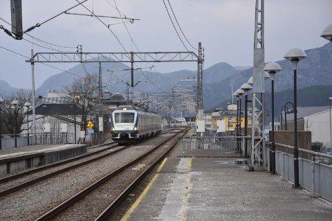 FORANDRING: Mellom 150 og 200 millioner kroner skal brukes for å oppgradere stasjonsområdet.