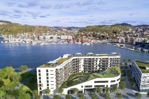 Rådhusgata 6 ble solgt for 40 millioner kroner.
