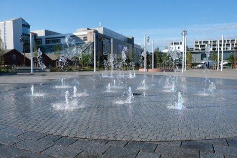 Dette vannet skal ikke drikkes, melder Sandnes kommune.