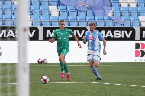 Christer Reppesgård Hansen og Sandnes Ulf ble slått av HamKam i august. I ettermiddag venter nye sjanser.