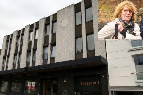 NEI TIL BYANTIKVAREN: Rådmannen foreslo at byantikvar Gro Persson skulle gjøre sine vurderinger i forbindelse med oppføring av to leiligheter på toppen av Torggata 1. Det ville ikke politikerne.