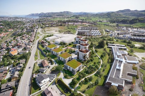 Utbyggingen på Hove/Sørbø vil ingen ende ta – nå kommer det 48 nye leiligheter