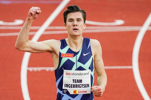 Jakob Ingebrigtsen vant igjen tirsdag kveld.
