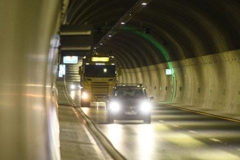 Ryfast-prosjektet har startet innkrevning av «bompenger». Det medfører færre biler i tunnelene.