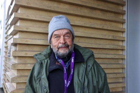 Andero Lauriz Cedergren (71) mener han aldri før har blitt møtt med den varmen han har opplevd i Sandnes.