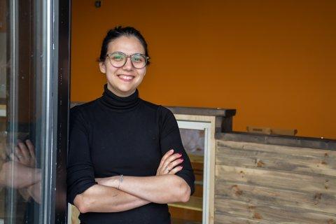 Andrea Ribeiro (33) ser fram til å endelig åpne Doughnut Worry i Langgata.