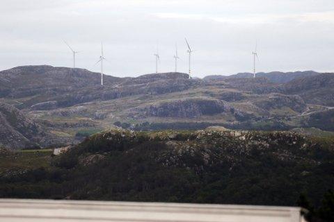 Dette bildet er tatt fra Frøyerveien på Hana.