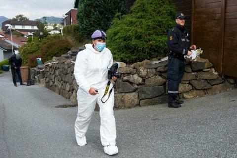 Politiet iverksatte omfattende undersøkelser etter skyteepisoden på Austrått.