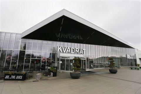 Det er kun innbyggerne i Sandnes som oppfordres til å bruke for eksempel Kvadrat.