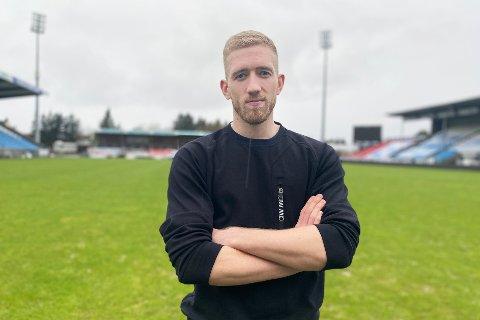 Egil Selvik flyttet til Haugesund i vinter. Han rakk knapt å hilse skikkelig på lagkameratene i FKH før koronaviruset slo til.