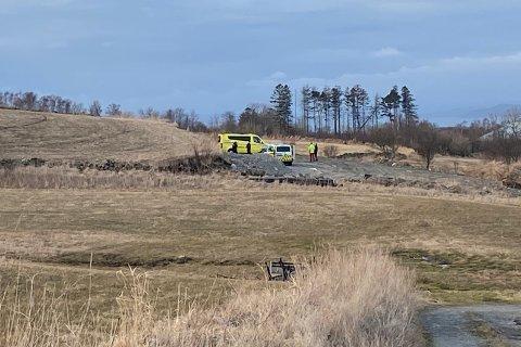 En ATV-ulykke skjedde i Riska bydel fredag.