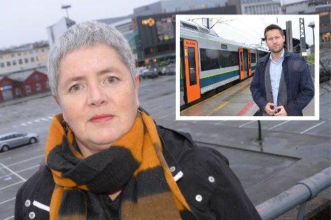 Heidi Bjerga (SV) mener Kjartan Alexander Lunde og Venstre svikter fatalt i sitt regjeringsarbeid inn mot Nasjonal transportplan.
