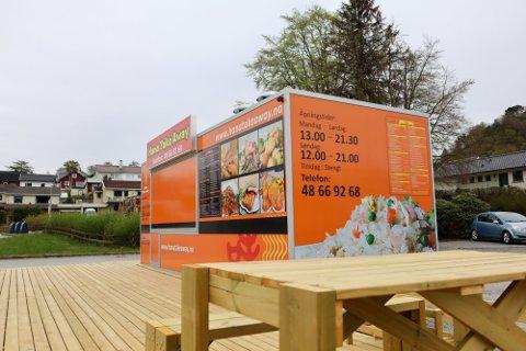 Spisestedet ligger i Skippergata på Hana.