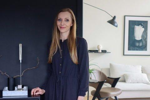 Veronica Fjermestad (42) har nærmere 46.000 følgere på sin Instagramkonto fra hjemmet sitt på Stangeland.