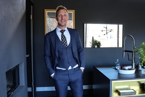 Kjetil Andersen (43) etablerte selskapet TPG i 2015. Selskapet utvikler blant annet store deler av Sandnes sentrum for tiden.