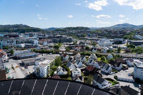 Folketallet i Sandnes var 80.900 personer ved utgangen av første kvartal 2021.