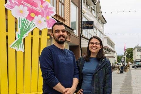 Miguel Da Silva og Andrea Ribeiro åpner Doughnut Worry i Langgata